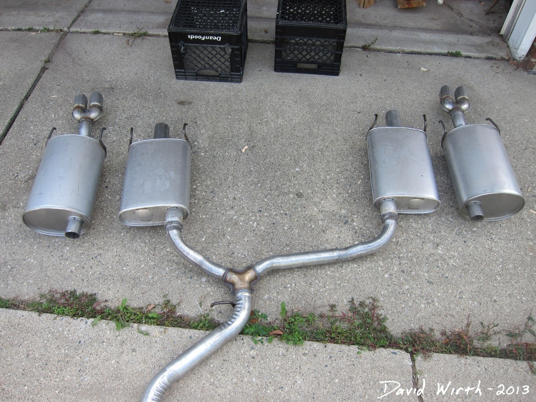 New Mufflers And Exhaust For The Pontiac Grand Prix